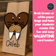 Valentine's Day Craft and Card Holder - WALRUS