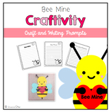 Valentine's Day Craftivity: Bee Mine