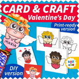 Valentine's Day Craftivity Card and Gift (Cupid Valentines Craft)