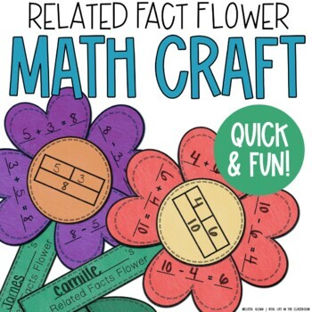 Spring Related Fact Flower Craft