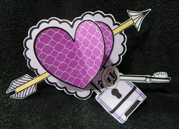 Valentine's Day Crafts & Art Activities: 3D Valentine Hearts Craft Activity