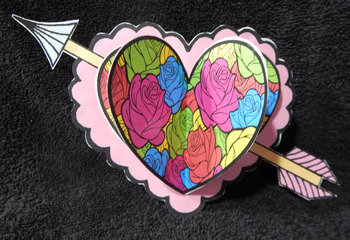Valentine's Day Craft Activities: 3D Hearts Craft Activity Bundle - Color&BW