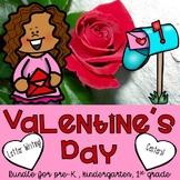 Valentine's Day Crafts, Centers, Activities for Pre-k/preschool/kindergarten/1st