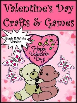 Valentine's Day Crafts & Games