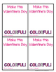 Valentine's Day Crayon Card Freebie