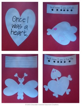 Valentine's Day - Create your own heart animal book