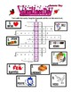 Valentine's Day Crossword Puzzle with a Secret Word (Pictures & Scrambled Words)