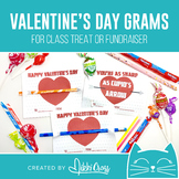 Valentine's Day Cupid Candy Grams | Class Treat or School Fundraiser