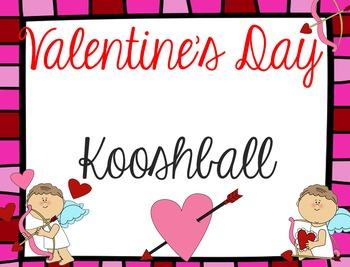Valentine's Day Cupid Kooshball Game for SMARTboard