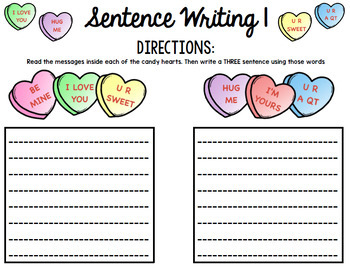 Valentine's Day Custom Bundle: Math, Reading, Writing, Special Education