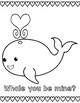 Valentine's Day {Cute} Puns Coloring Pages