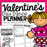 Valentine's Day Dance Planner {A Project Based Learning Activity}