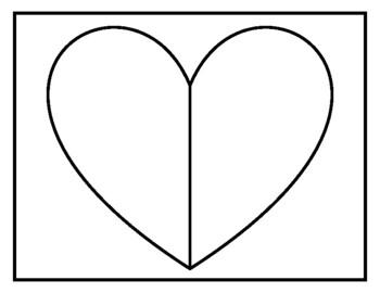 Valentine's Day Decomposing Kindergarten Math Center- Spin a Heart Critter