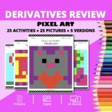 Valentine's Day: Derivatives REVIEW Pixel Art Mystery Pictures