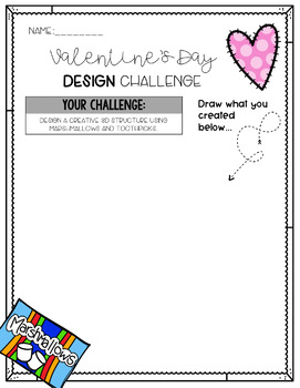 Valentine's Day Design Challenge {FREEBIE}