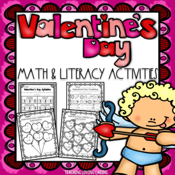 Valentine's Day Differentiated Math and Literacy Activities
