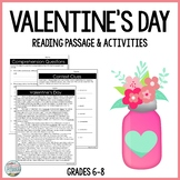 Valentine's Day Differentiated Reading Passage & Context C