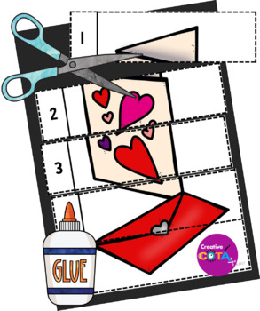 Valentine's Day Differentiated Worksheets and Activities
