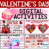 Valentine's Day Digital Activities | Distance Learning Goo