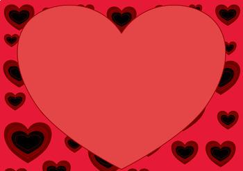 Valentine's Day Digital Labels Clip Art Set