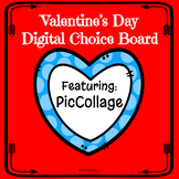 Valentine's Day Digital Choice Board| Pic Collage App