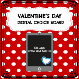 Valentine's Day Digital Choice Board| Draw and Tell HD App