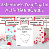 Valentine's Day Digital Heart Activities