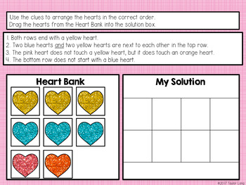 Valentine's Day Digital Interactive Critical Thinking Activities