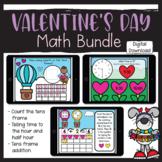 Valentine's Day Digital Math Bundle