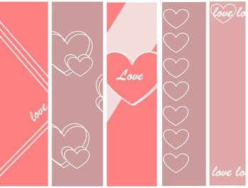 FREE! Digital Papers - Valentine's Day