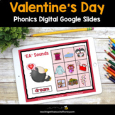 Valentine's Day Digital Phonics Activities - Google Slides