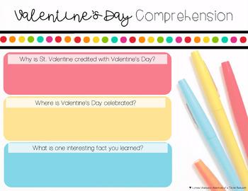Valentine's Day Digital Resource