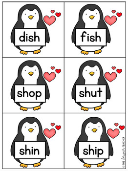 Valentine's Day Digraph Sort