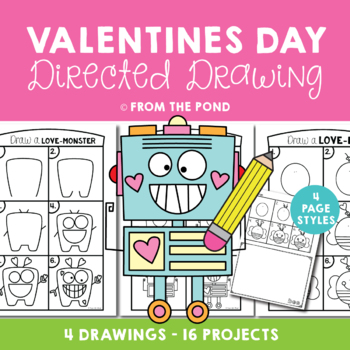 Valentine's Day Directed Drawing
