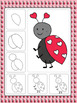 Valentine's Day Art Activities (February Directed Drawings)
