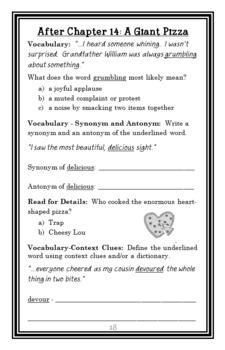 Valentine's Day Disaster (Geronimo Stilton) Novel Study / Reading Comprehension