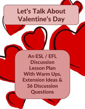 Valentine's Day Discussion Lesson Plan