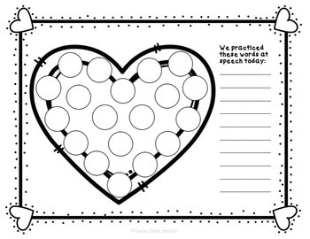 Valentine's Day Do-A-Dots and Cover Ups