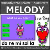 Valentine's Day: Do Re Mi Sol La Interactive Music Game + Assessment {Love Bug}