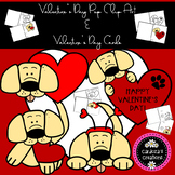 Valentine's Day Dog Clip Art and Student Valentine's Day Cards