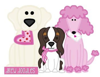 Valentine's Day Dogs FREEBIE
