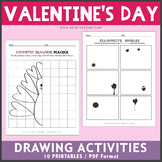 Valentine's Day Drawing Activities