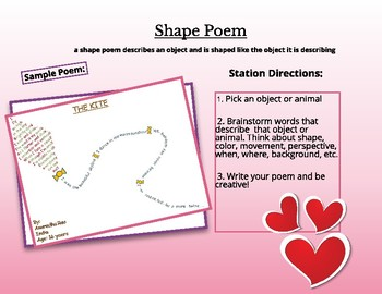 Valentine's Day ELA Stations