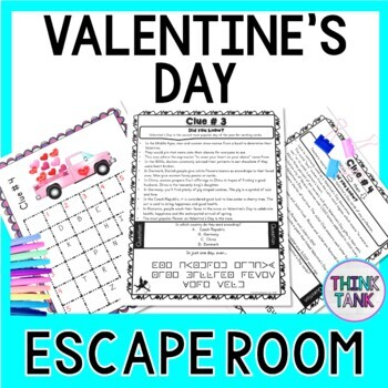 Valentine's Day ESCAPE ROOM - Fun Trivia Facts - February 14