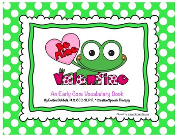 Valentine's Day Early Core Vocabulary Book