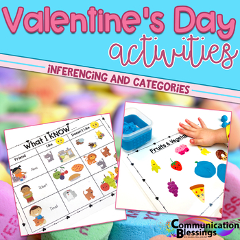 Valentines Day Early Sounds and Sorting Categories