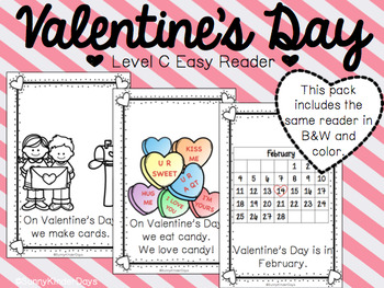 Valentine's Day Easy Reader BUNDLE!