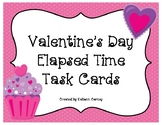 Valentine's Day Elapsed Time Task Cards