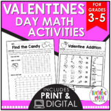 Valentine's Day Elementary Math Activities
