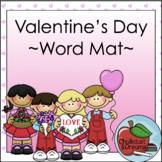 Valentine's Day | Elkonin Word Mat
